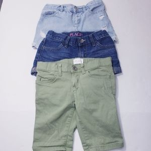 4/$30 CHILDRENS PLACE Shorts Size 5